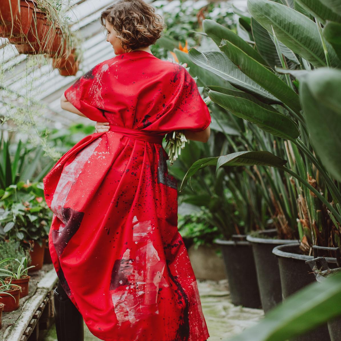"Kimono-dress ""Amelie"""